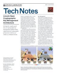 Lincoln Open Cryptographic Key Management Architecture