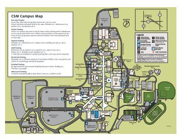 Campus Map with new locations and relocation ... - Outreach College
