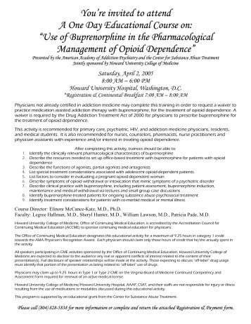 opioid treatment program clinical guidelines