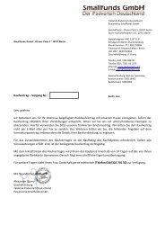 Kaufvertrag – Vorgang Nr.: Sehr geehrte wir ... - MuK FINANZ
