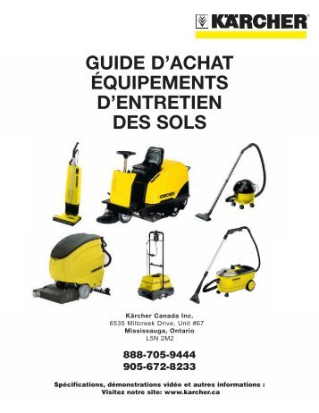 Karcher French - Welcome to Karcher Canada