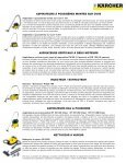 Karcher French - Welcome to Karcher Canada - Page 2