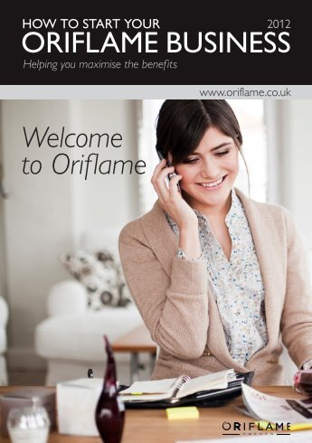 ORIFLAME BUSINESS Welcome to Oriflame