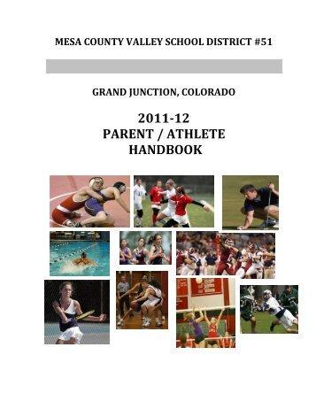 Parent / Athlete Handbook - Grand Junction High School