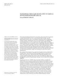 Bugün, Dün Ve Yarın Kentin Bedeninde Bir Yara DOI - Journal of the ...