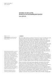 MODERN VE SKOLASTİK: RUSKIN'İN İNCELENMEMİŞ BİR ÖNSÖZÜ