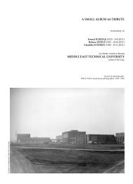 A Small Album as Tribute - Journal of the Faculty of Architecture ...