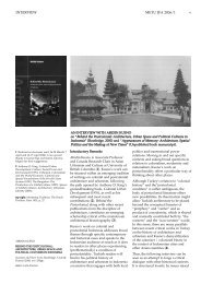 INTERVIEW v METU JFA 2006/1 - Journal of the Faculty of ...