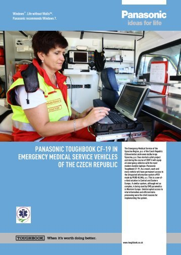 panasonic toughbook cf-19 in emergency medical service vehicles ...