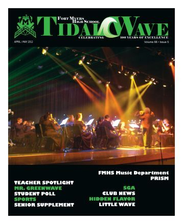 Volume 66 Issue 5 - Fort Myers High School