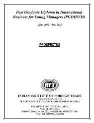 Post Graduate Diploma in International Business for ... - Exametc.com