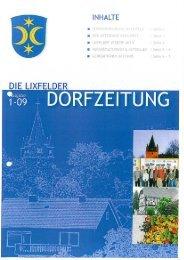 Die Lixfelder Dorfzeitung Nr. 2 - Angelburg