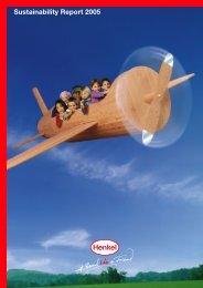 Sustainability Report 2005 - Henkel
