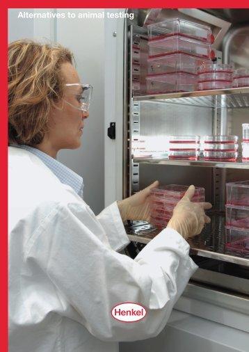 Henkel: Alternatives to animal testing
