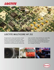 Loctite MuLticore HF 212 - Henkel