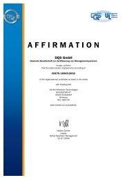 AFFIRMATION DQS GmbH - Loctite