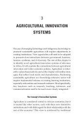 3 AGRICULTURAL INNOVATION SYSTEMS - Belfer Center for ...