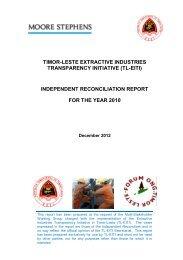 2010 reporting - EITI