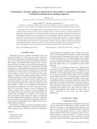 Phys. Rev. E 81, 011919 (2010): Predicting the stochastic guiding of ...