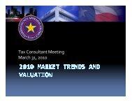 2010 Market Trends