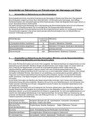 Erkrankungen der Atemwege und Ohren - Aklimex.de