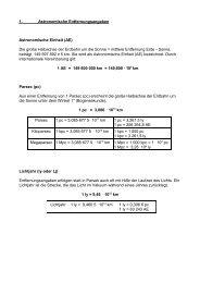 Maßeinheiten - Aklimex.de