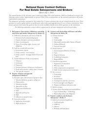 PULSE Portal Real Estate Commission Users Manual - Pearson VUE