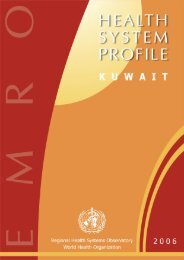 Kuwait : Complete Profile - What is GIS - World Health Organization