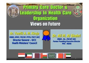 Primary Care Doctors and Leadership in Health Care ... - What is GIS