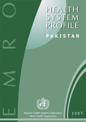 Pakistan : Complete Profile - What is GIS - World Health Organization
