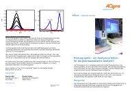 Polarographie – ein Analyseverfahren für die ... - AQura GmbH