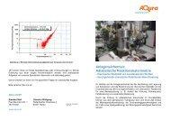 Anlagensicherheit: Adiabatische Reaktionskalorimetrie - Aqura Gmbh