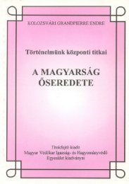 Grandpierre K. Endre: A magyarság őseredete