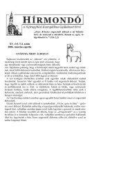 XV. évf. 3-4. szám 2006. március-április - Mindenkilapja