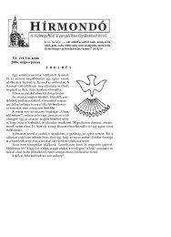 XV. évf. 5-6. szám 2006. május- június - Mindenkilapja