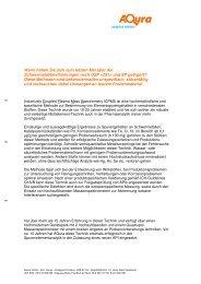 ICPMS zur Bestimmung von Elementspurengehalten - Aqura Gmbh