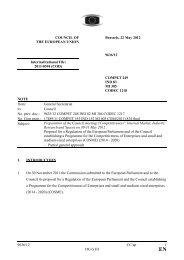 9636/12 CC/ap 1 DG G III COU CIL OF THE EUROPEA U IO ...