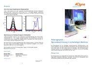 Spurenbestimmung in schwierigen Matrices - Aqura Gmbh