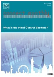 What is the Initial Control Baseline?