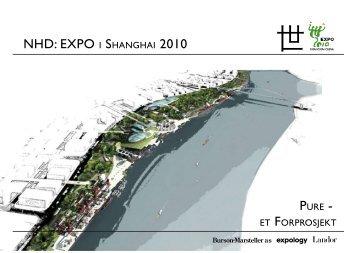 NHD: EXPO I SHANGHAI 2010 - Innovasjon Norge