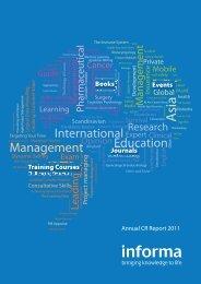 Annual CR Report 2011