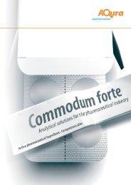 Pharma Brochure - Aqura Gmbh