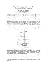 Paper/Abstract - Turbulence Mechanics/CFD Group