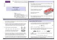Wall Functions - Turbulence Mechanics/CFD Group