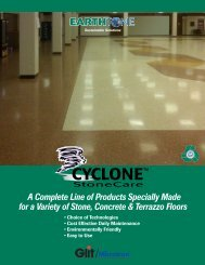 A Complete Line of Products Specially Made for a Variety of Stone ...