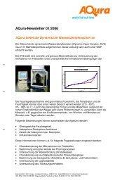 Dynamische Wasserdampfsorption - Aqura Gmbh