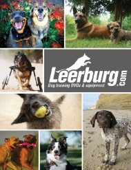 View/download our 60 page catalog in PDF format - Leerburg ...