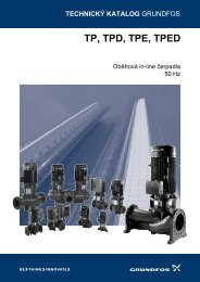 TP, TPD, TPE, TPED - Grundfos