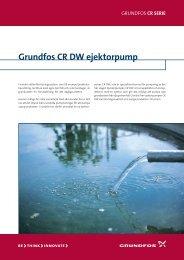 Grundfos CR DW ejektorpump