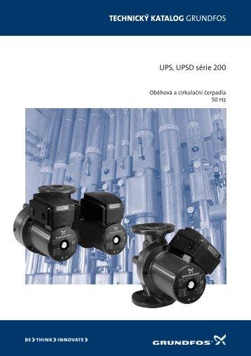 Grundfos UPS a UPSD série 200